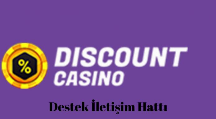 Discout casino destek iletişim