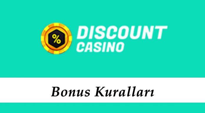 DiscountCasino Bonus Kuralları
